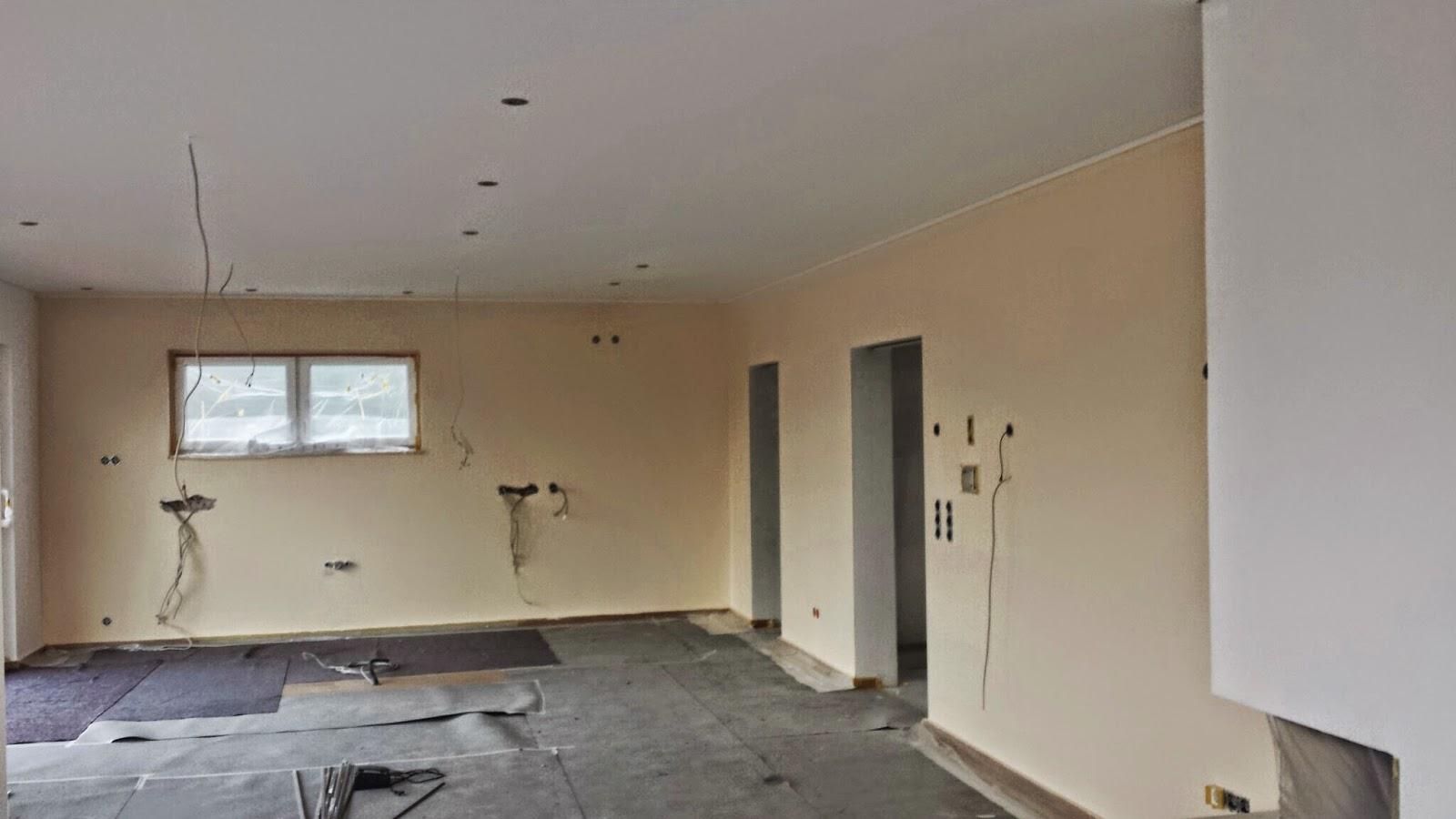 Unser Architektenhaus in AK: Hilfe - wir sehen GELB...