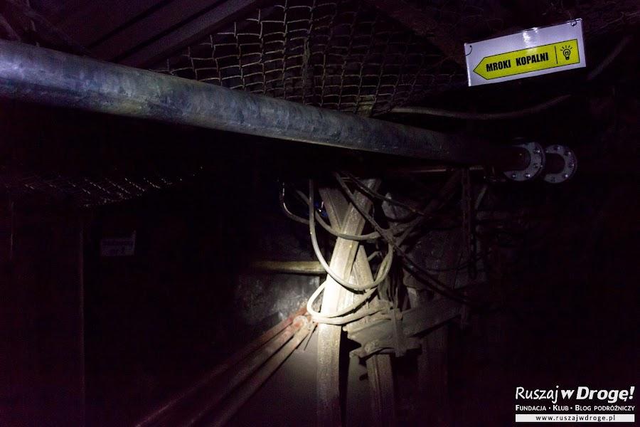 Mroki Kopalni - trasa w całkowitej ciemności w Kopalni GUIDO