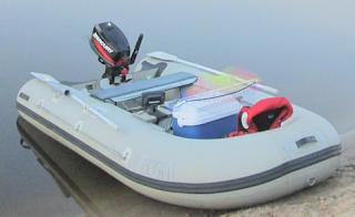 лодка кама дека 380