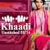 Khaadi Unstitched Summer Collection 2014 | Unstitched Designer Embroidered Dresses