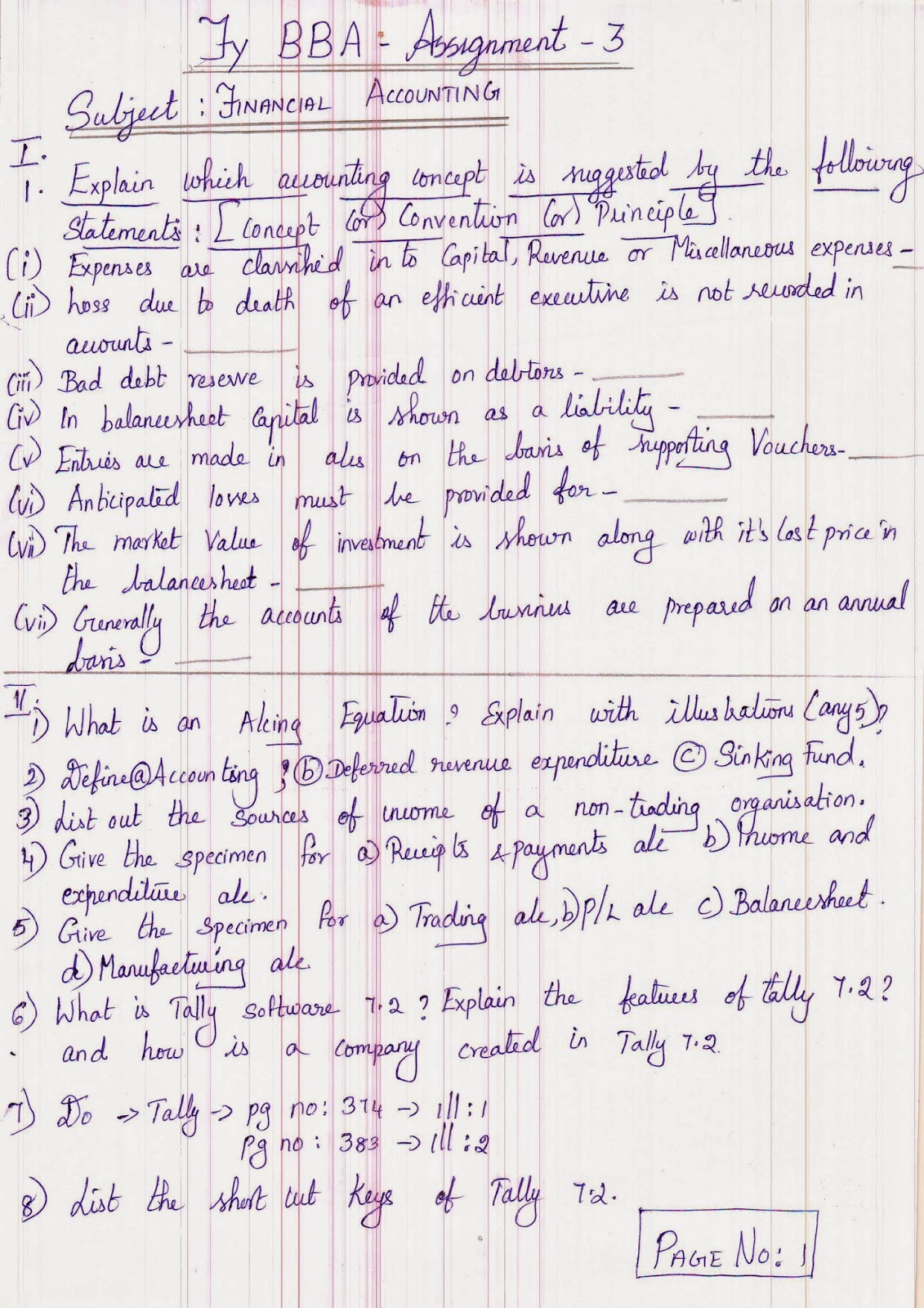financial accounting assignment dnv bba financial accounting assignment 3