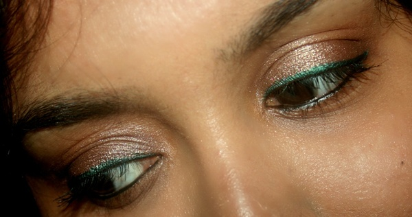 Maybelline Color Tattoo Cream Eye Shadow in Bad To The Bronze EOTD