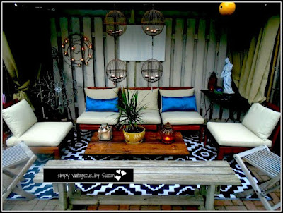 diy outdoor living room
