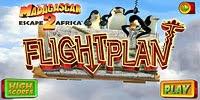 Мадагаскар: побег в Африку - План полета