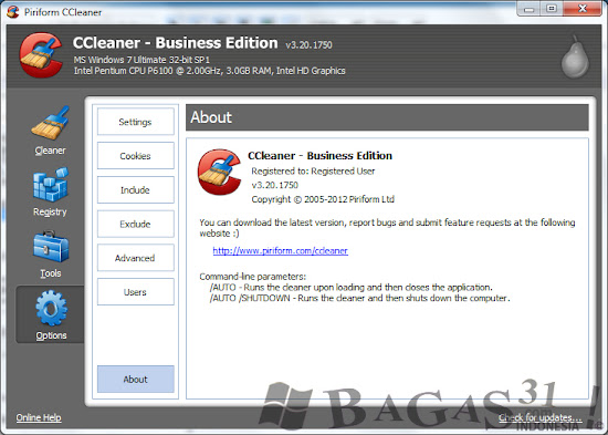 CCleaner 3.20 Business Edition Full Crack 3