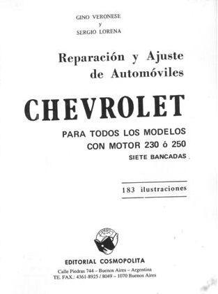 Mi chevy nova manuales documentos y mas for General motors parts division