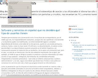 Menú Ver en Internet Explorer de escritorio con la opción Origen resaltada