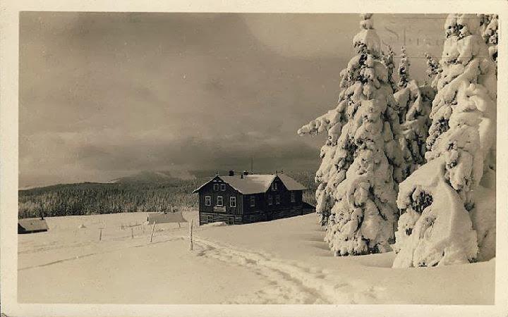 Bobí bouda v zimě
