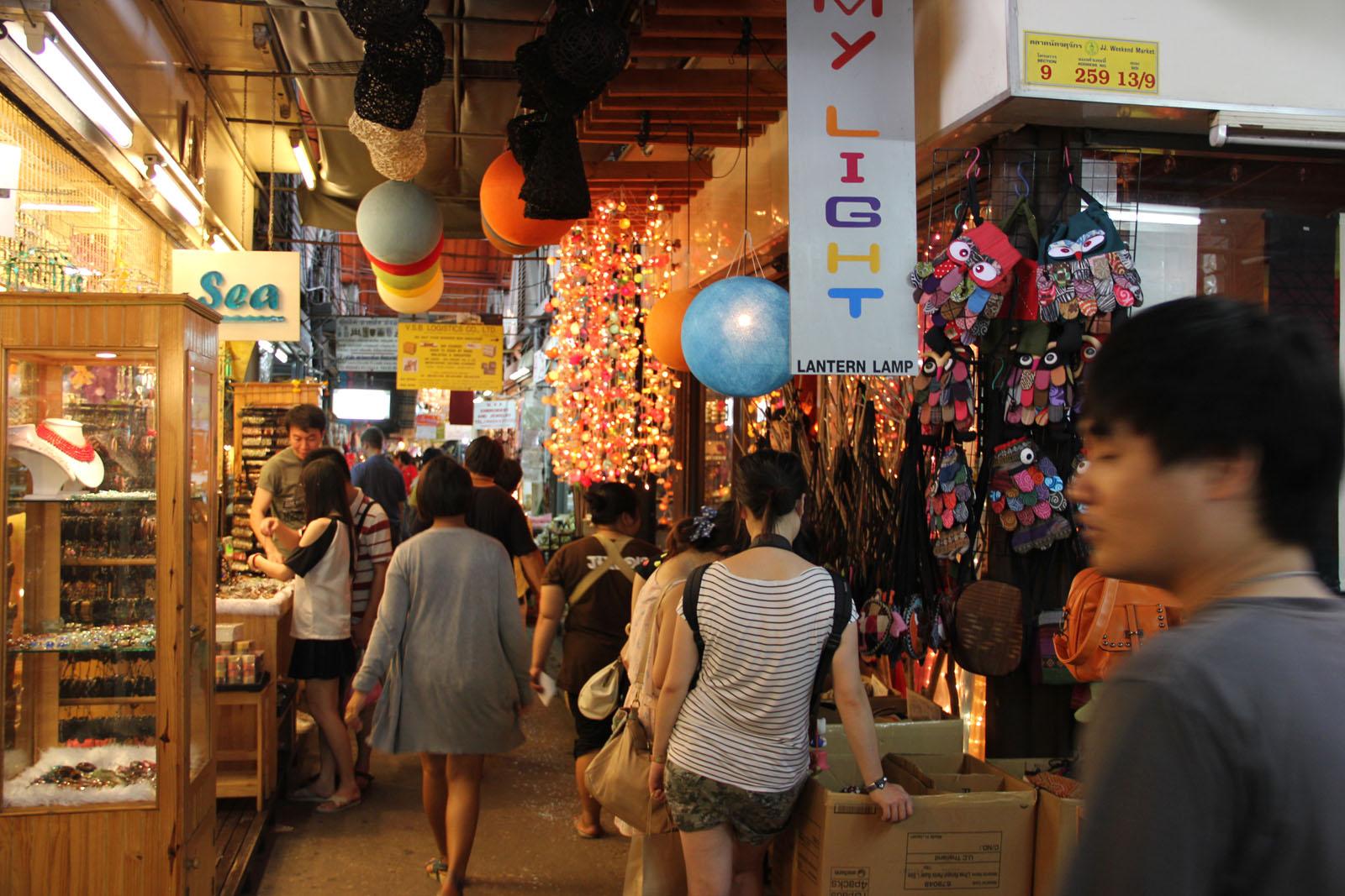Chatuchak Weekend Market in Bangkok - Thailand