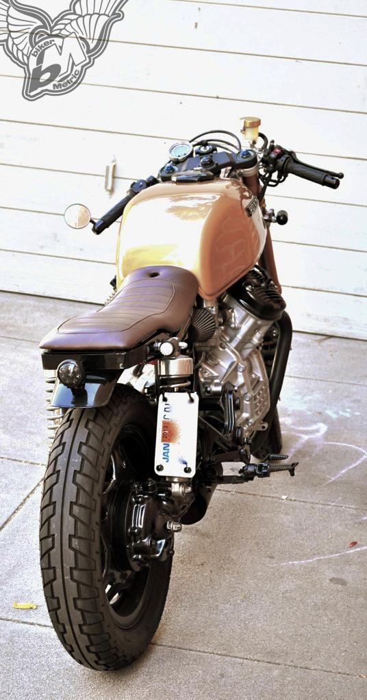 custom 1979 honda cx500 streetfighter | justin allen