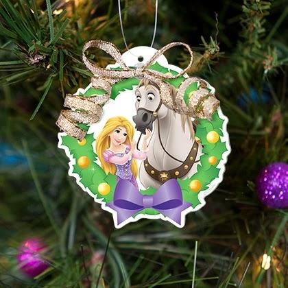 Princesas da Disney: decorar a árvore de Natal