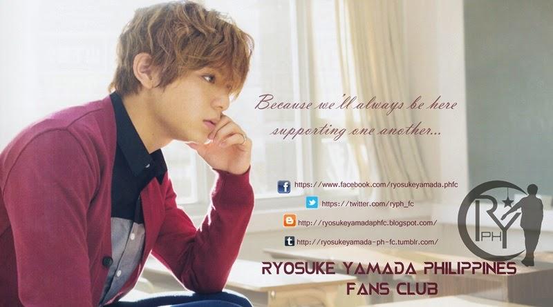 Ryosuke Yamada PH our Ichigo Prince