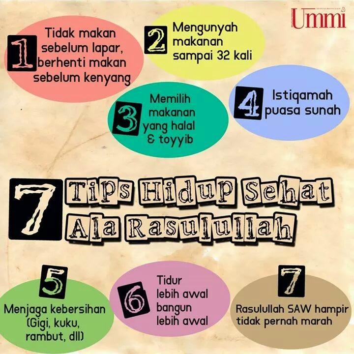 7 tips hidup sihat