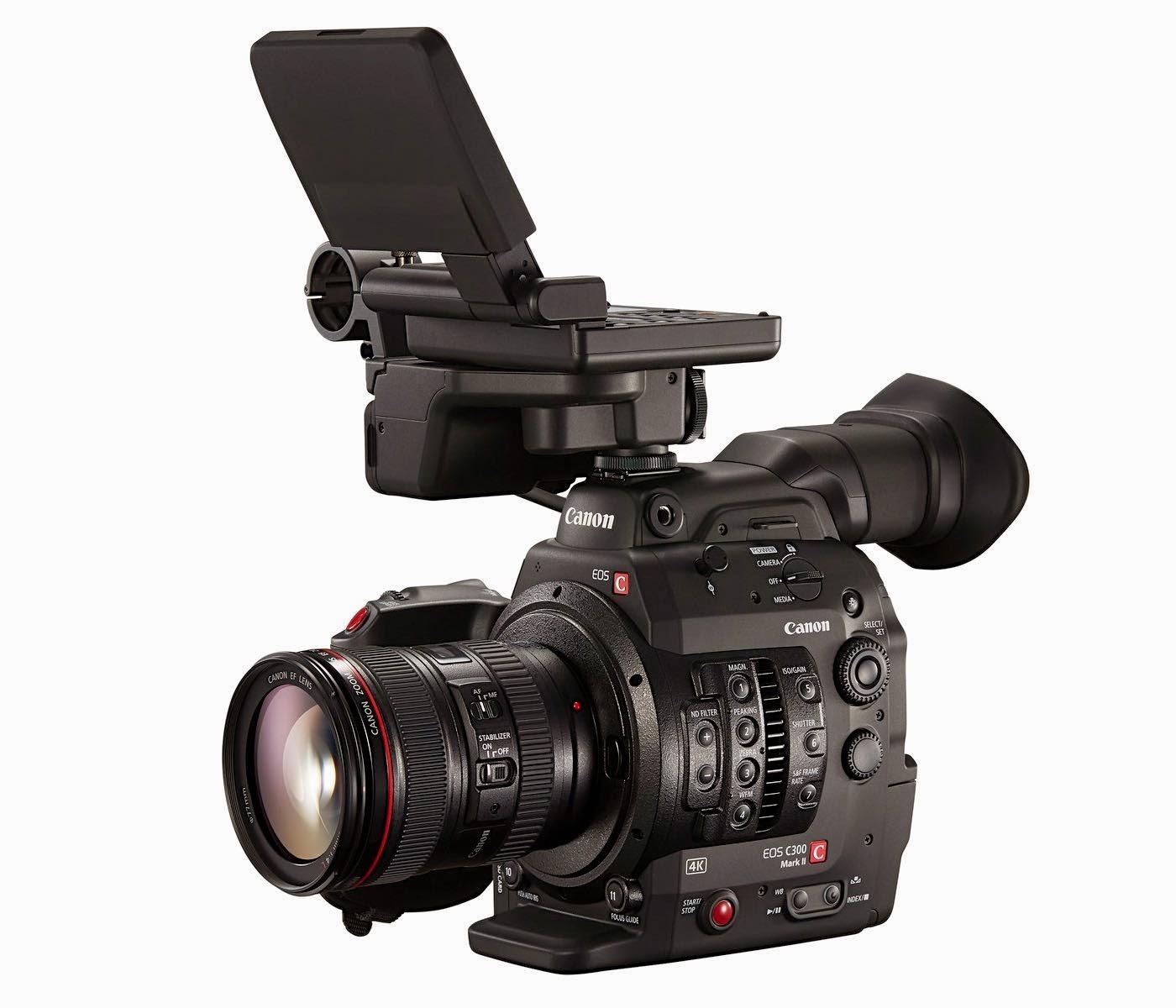 Canon Xf Notebook New Canon Eos C300 Mark Ii 4k Ultra
