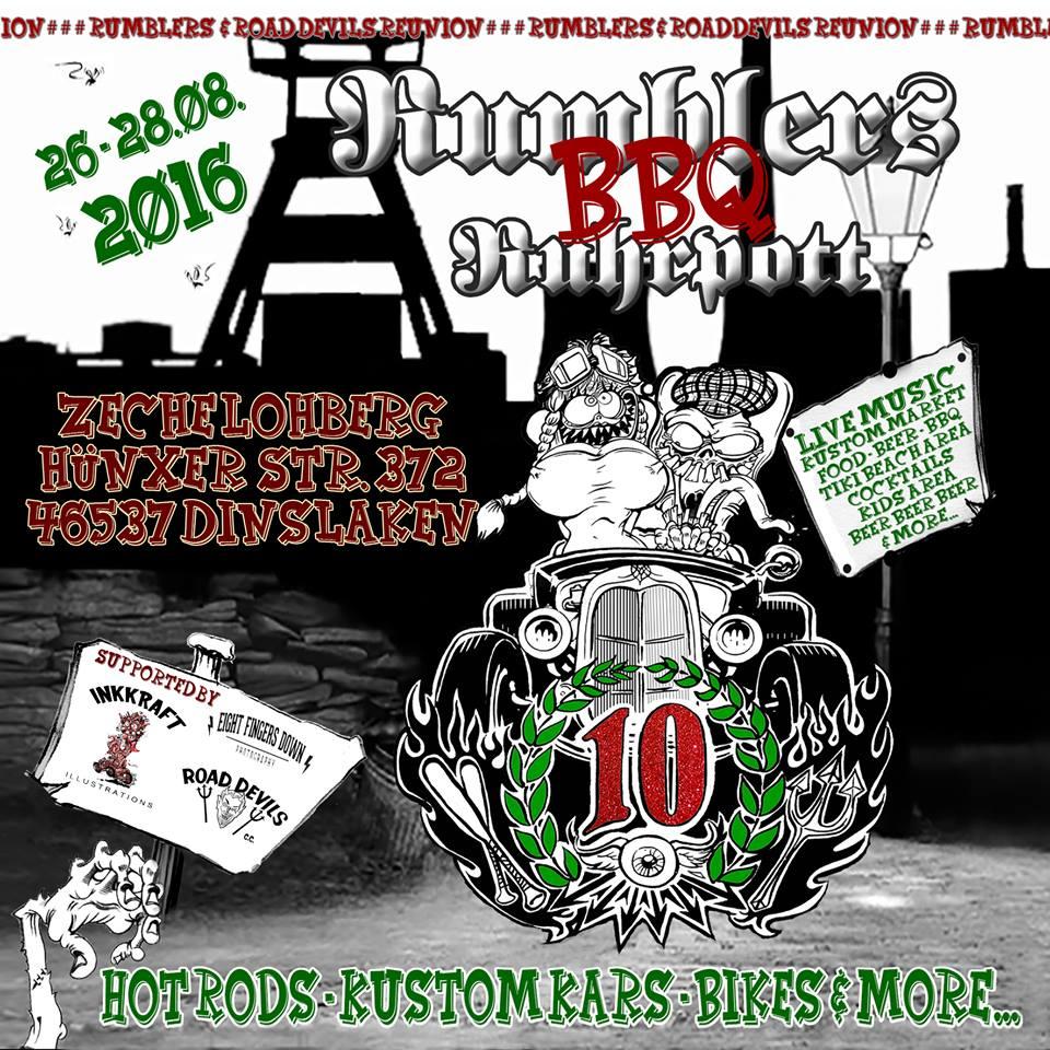 Rumblers Ruhrpott BBQ 2016