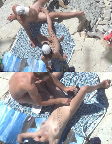 BeachHunters Sex 16787-16847 (Amateur Sex on a Nudist Beach)