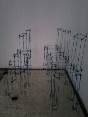 Galería Rina Bouwen, Galerías de Arte en Madrid, Exposiciones Madrid, Arte contemporáneo, Blog de arte, Voa Gallery, Kae Newcomb, Sala de Espera,
