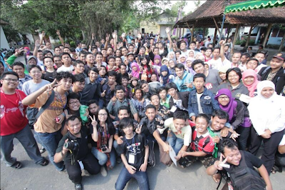 Foto Bareng Peserta Blogger Nusantara 2013 #BN2013