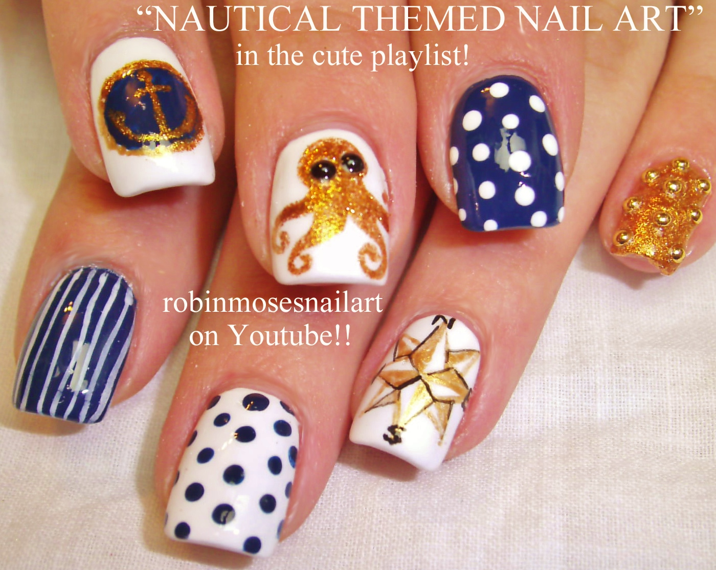 Robin moses nail art summer nails nautical nails nail art summer nails nautical nails nail art anchor nails boat nails aquarium nails ocean nails vacation nails compass nails octopus nails prinsesfo Image collections