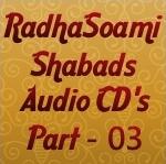 RadhaSoami Shabad CD 03