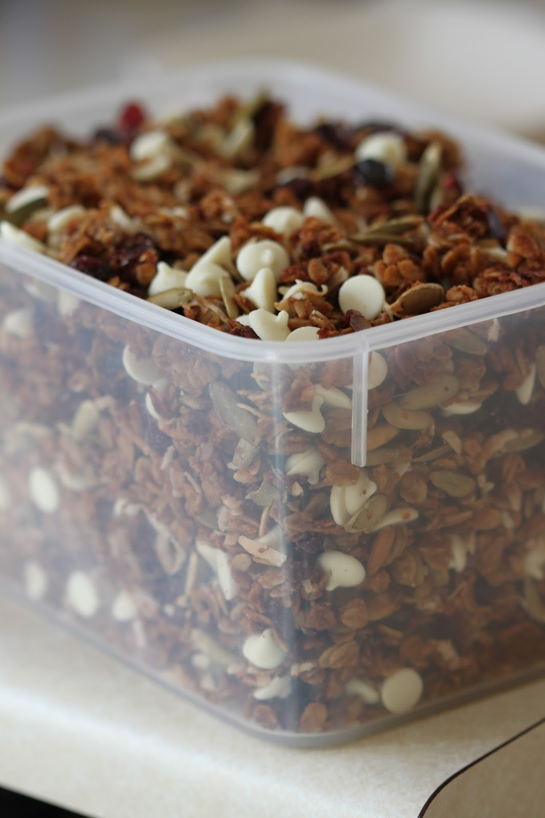 Tortillas and Honey: Pumpkin Granola