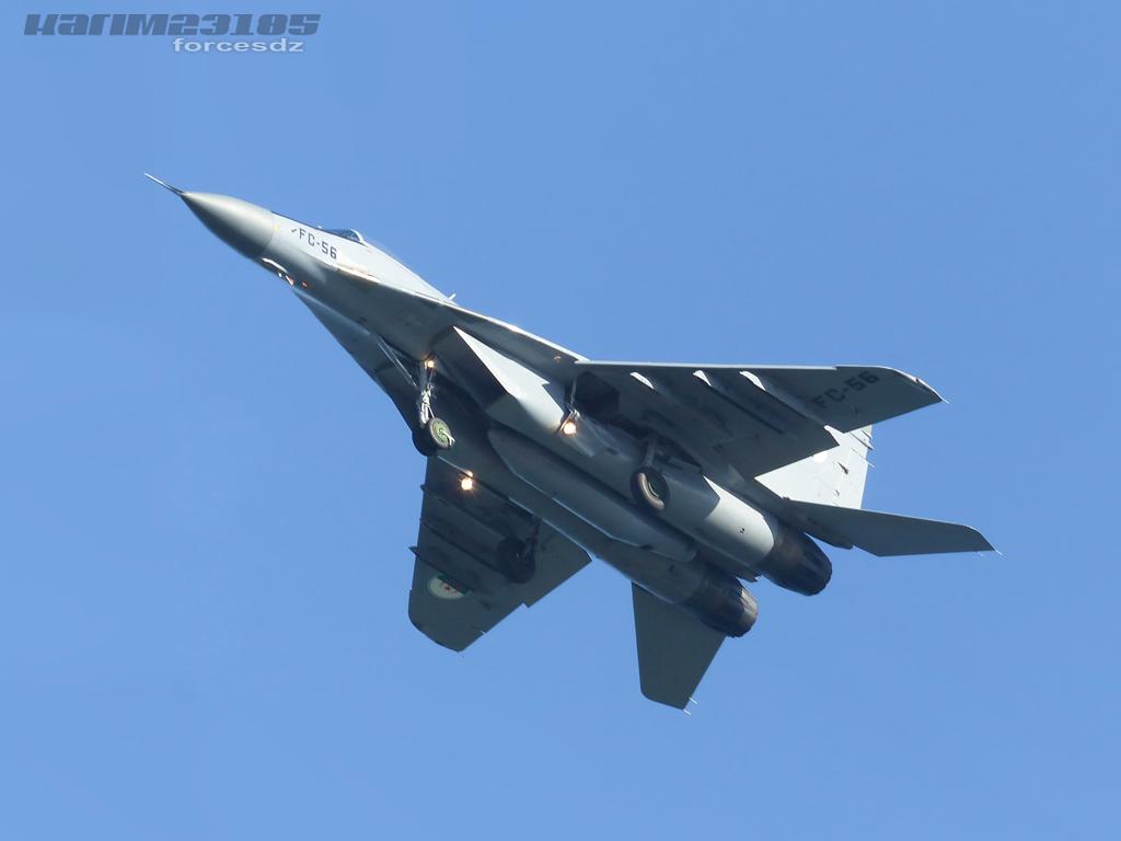 صور طائرات القوات الجوية الجزائرية  [ MIG-29S/UB / Fulcrum ] C