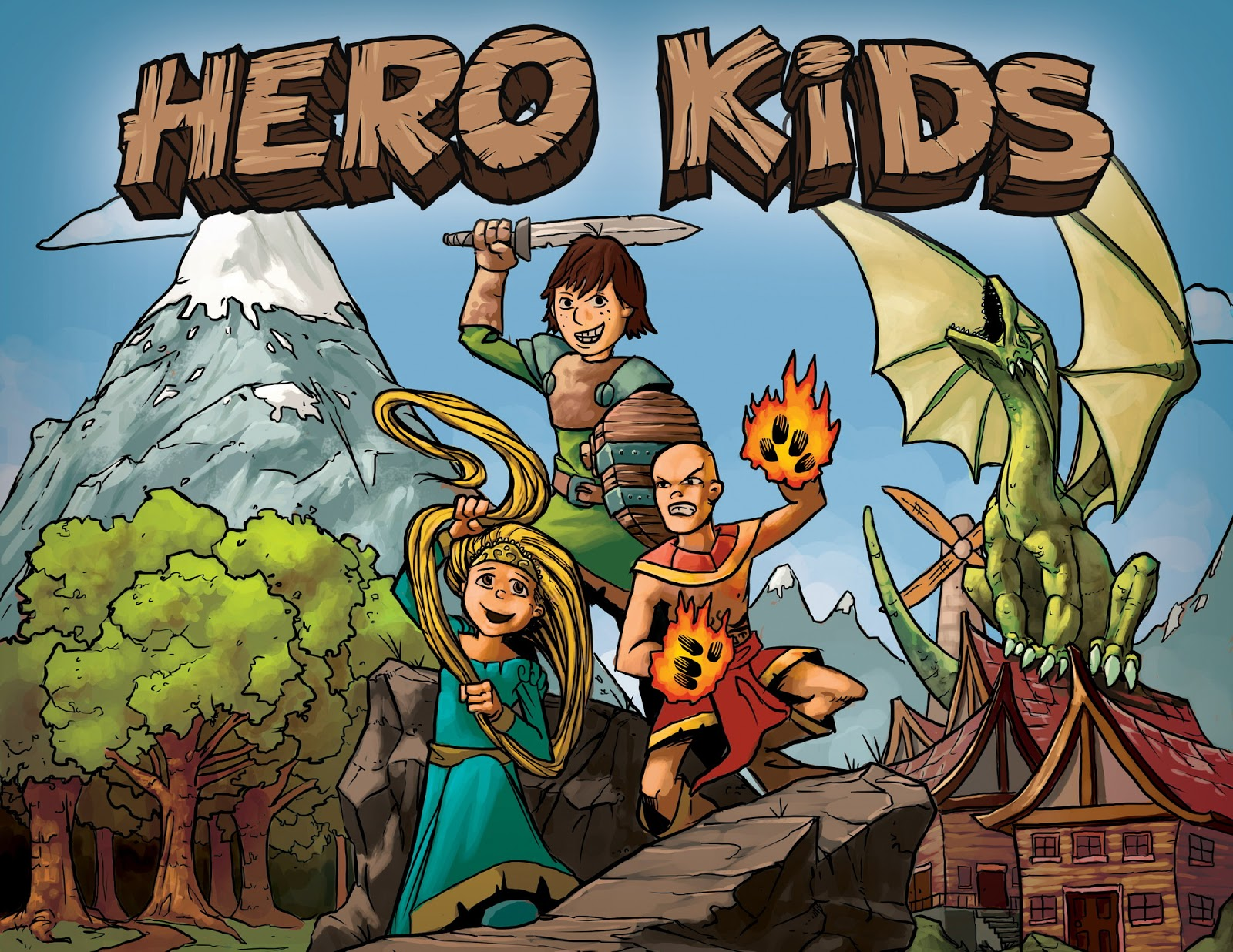 Hero Kids - Cover
