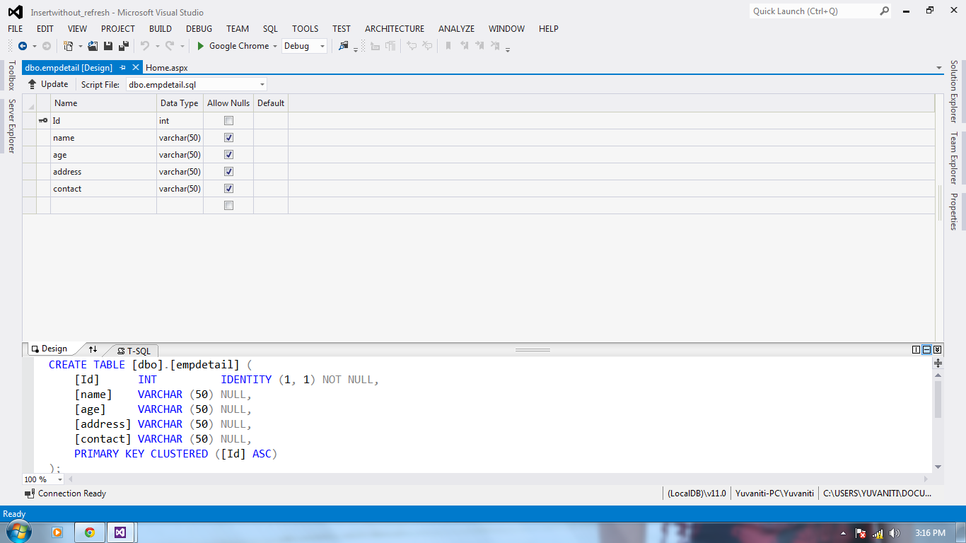 Create a help desk web application using asp net mvc jquery and more asphelp insert into - Jquery refresh div on click ...