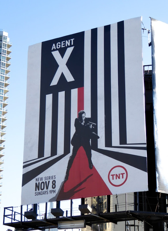 Agent X season 1 billboard NYC
