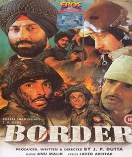 Border Poster - Sunny Deol Film