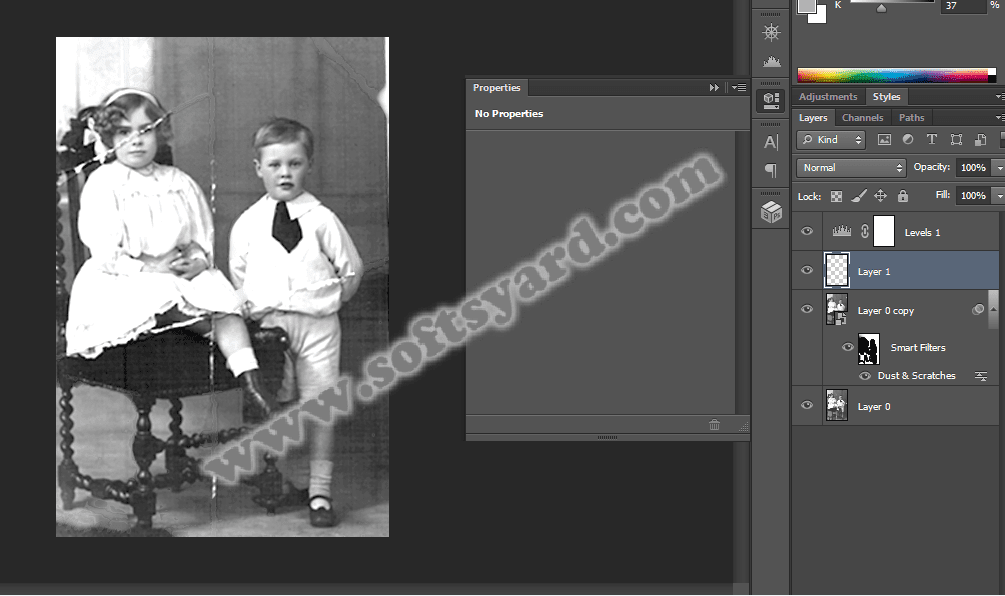 Recover and Restore old Damaged  images easily using photoshop