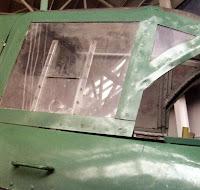 Фонарь кабины стрелка Ил-2 КСС