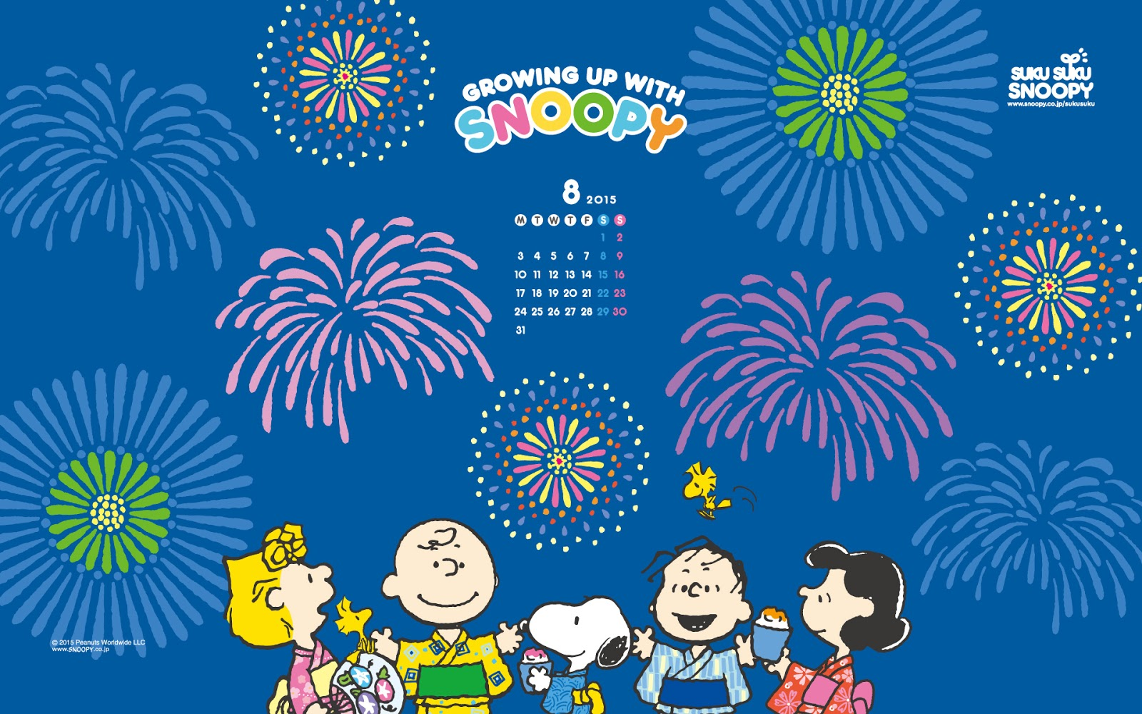 Summer Is Still Bursting With Soaring Temperatures, Festivals And  Interesting Anime. Speaking Of Natsu Matsuri, Snoopy Japan Has Recently  Released Its ...