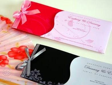 Desain kartu undangan pernikahan