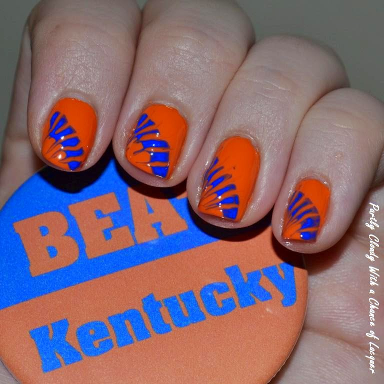 Florida Gator Nails - UF vs. Kentucky | Partly Cloudy With a Chance ...