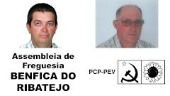 ELEITOS DA CDU NA ASSEMBLEIA DE FREGUESIA DE BENFICA DO RIBATEJO