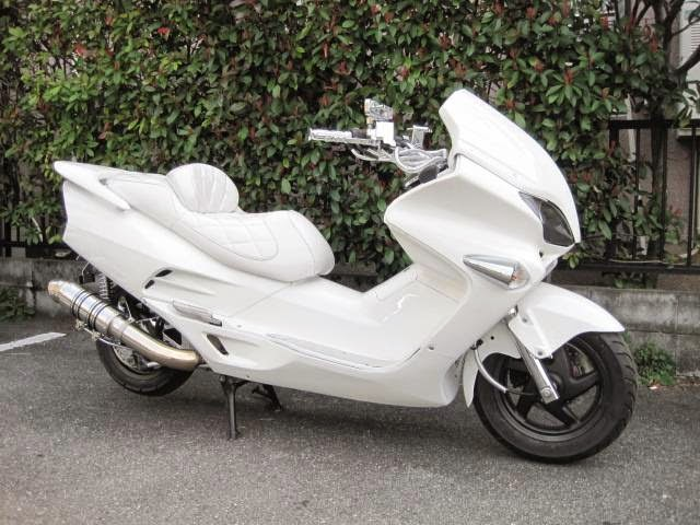Modifikasi Honda Forza 2002