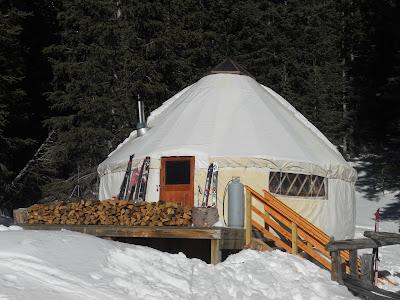 bull woods yurt nm