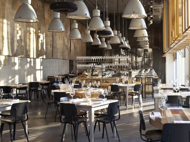 Rosa s inspiration tel aviv restaurant with a cool