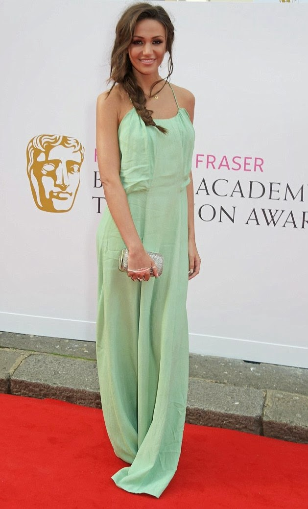 TV BAFTA awards- Best dressed, Michelle Keegan