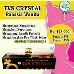TVS CRYSTAL (PERAPAT VAGINA)
