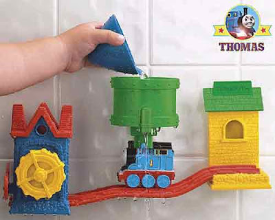 Character Thomas and friends bath tracks set bathroom playtime fun water games for preschool kids
