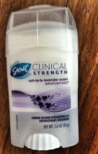 Secret Clinical Strength Lavender