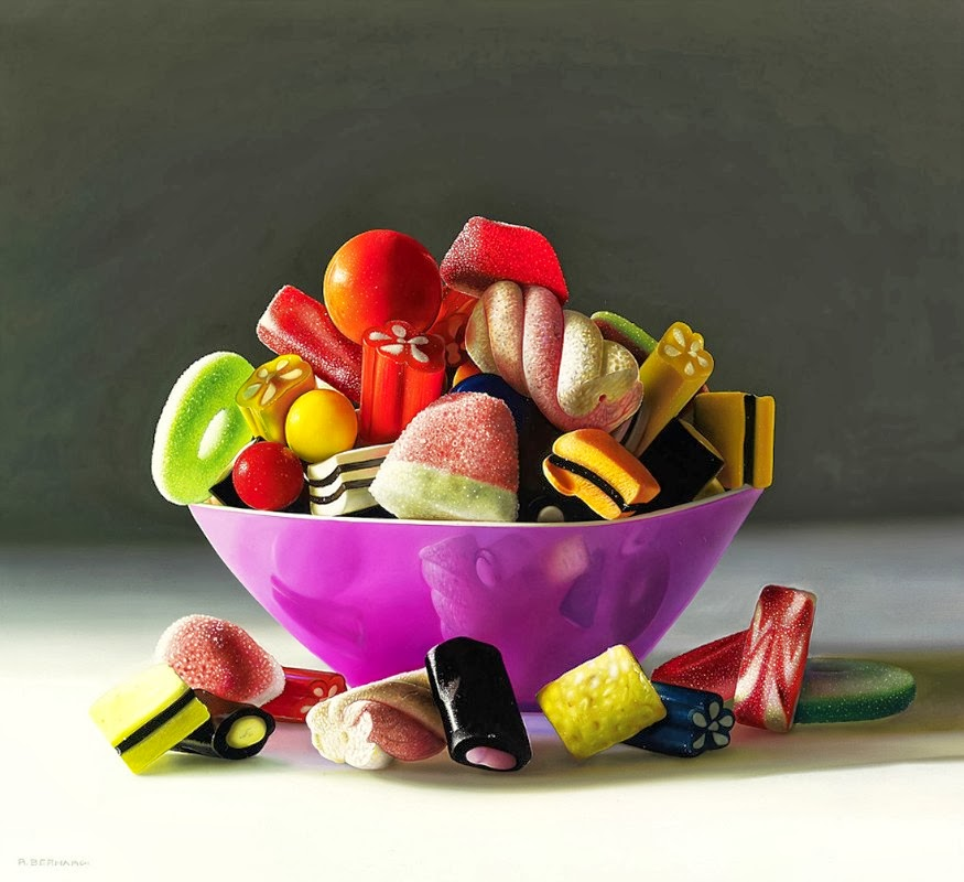 06-La-Nave-Dei-Desideri-The-Ship-of-Desires-Roberto-Bernardi-Hyper-realistic-Candy-Paintings-www-designstack-co
