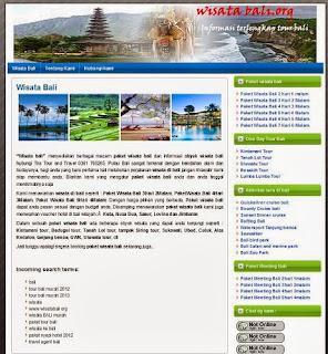 Info Agen Wisata Bali