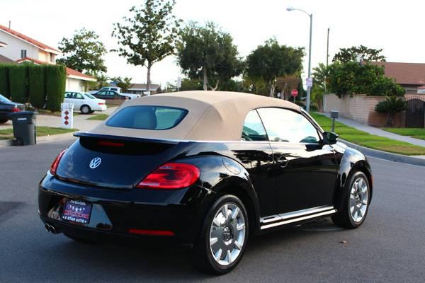Used 2013 Volkswagen Beetle Black Convertible By Owner