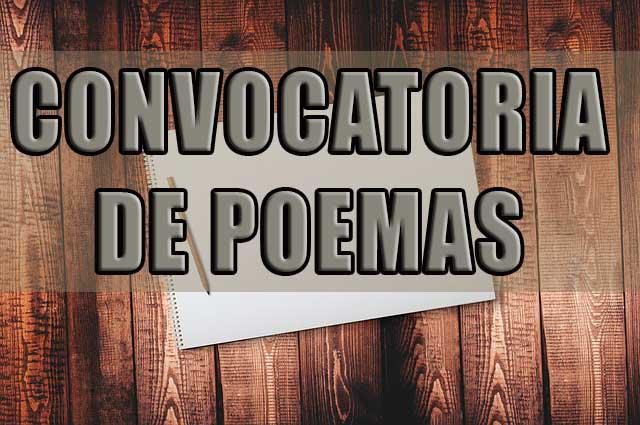 3ra CONVOCATORIA DE POEMAS