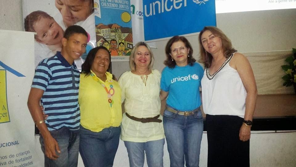 A Articuladora e a Mobilizadora da área da Educação participam da 2ª capacitação do Selo Unicef