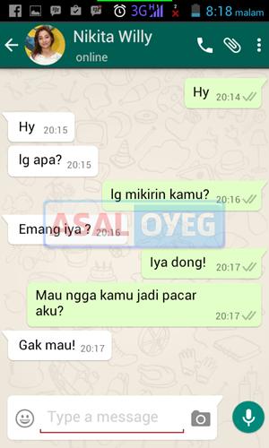 Percakapan palsu