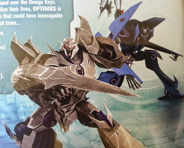 Transformers Prime: Darkest Hour DVD cover close up